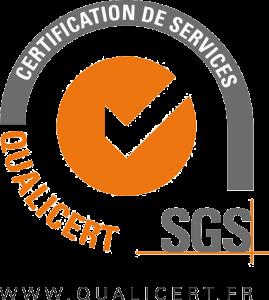 logo certification de services SGS Qualicert
